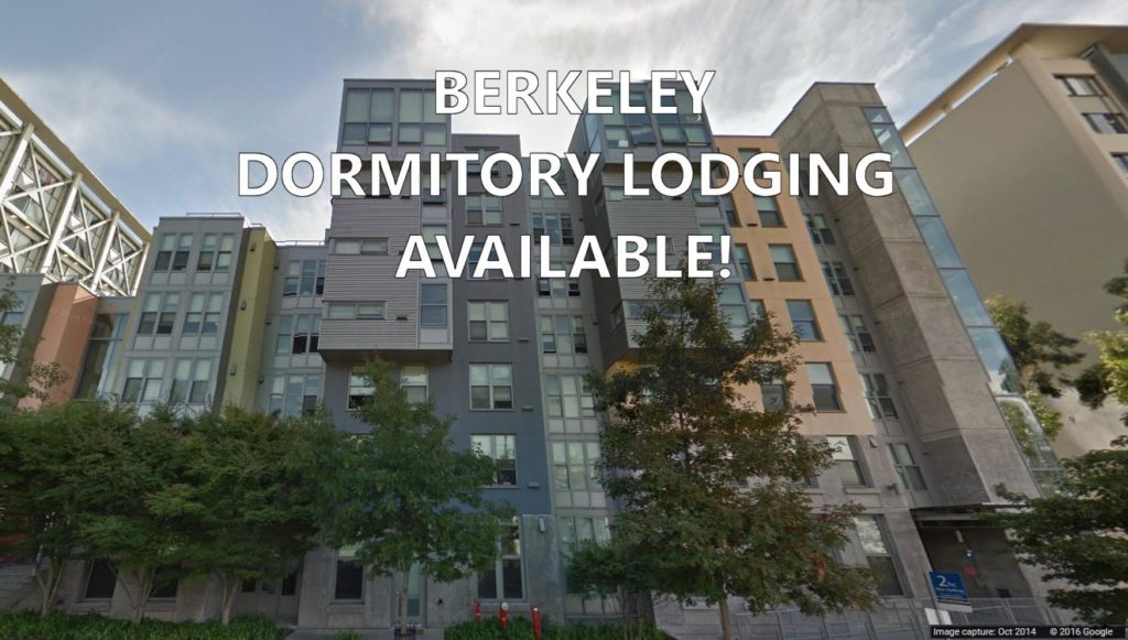 Dormitory Lodging Available